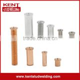 ISO13918 steel with copper coating internal thread IT capacitor discharge CD welding bolt