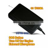 3G WCDMA car tracker CCTR805 u-Blox GPS module sos button vehicle /school bus tracking system