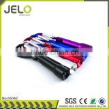 Ningbo JELO Popular Hot Sales Promotion Bright 1LED Carabiner Keychain Light Cheaper Gift Flashlight and Torch