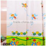 2015 Eco-friendly new design unique fancy printed polyester custom printed shower curtains