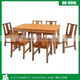 6 Seater Dining Table, Japanese Dining Table, Wood Dining Table