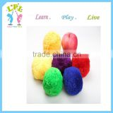Nursery school sports toy high quality Acrylic fibres raw material colorful toy ball for kid toy