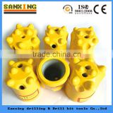 sanxing shank bit, tapered button drill bits for rock drill
