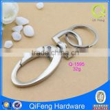 Q-1595 keychain carabiners dog leash hook free sample low price