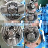 Chengda supply flat die two sides ring die two types rollers for roller turning biomass wood pellet machine