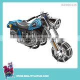 DIY 3d puzzle toy wind up motorcycle