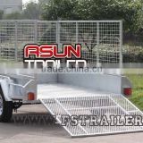 Professional manufactural fully welded Cage Trailer with Ramp (8x5'/ADR/Hot dip Gal) 2016