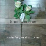 three centre artificial rose flowers