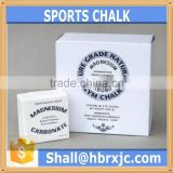 magnesium carbonate cube chalk block for gymnastics