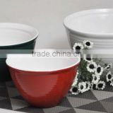 7'' ceramic noodle bowl 8'' ceramic soup bowl 9'' custom ceramic bowl