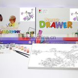 Complete DIY painting set Kid diy digital painting toy for sale