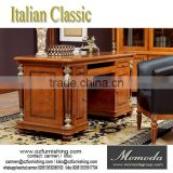 YB29 Luxirious cherry wood executive office desk office furniture /Classical Luxury Italian Design Solid Wood Office Table