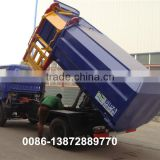 china factory sale 4x2 dongfeng side garbage bin lifter refuse truck
