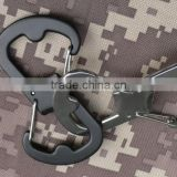 Latest Design Stainless Steel Bottle Opener EDC 8-shape Buckle Climbing Carabiner Bag Key Ring Clasp Survival Tool