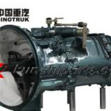 Sinotruk Howo A7 HW19710131202 10 Speed Gearbox Assembly