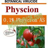 0.1% Physcion AS, botanical virucide, plant extract