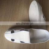 clearoom electronic factory pvc 4 hole anti static ESD shoe