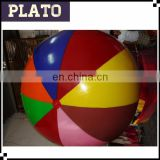 Giant stripe helium beach ballon, commercial helium ball for sale