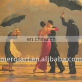Jack Vettriano The Singing Bulter Handmade Oil Painting