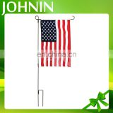 Hot sale fashional custom logo design printed outdoor American garden flag