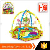 wholesale new arrival BB whistle and bell custom playmat for baby