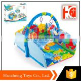 trend 2018 fashion popular folding bright colour baby play mat with safe material