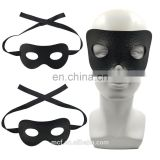 Masquerade Ball sexy women Faux Leather eye mask wholesale Black Zorro eye mask for party NCH-2477