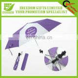 Portable Mini Logo Printing Folding Umbrella