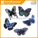 Butterflies Wholesale Custom Sequin Embroidery Applique Patch
