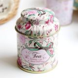 Wholesale Custom Round Tea Tin Can