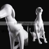 hot sale full body window display dog mannequin