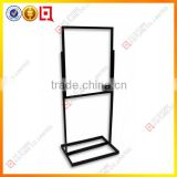 Black Metal frame poster display stand