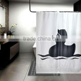 duck children shower curtain hand painted shower curtains designs
