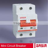 high breaking capacity electrical mini circuit breaker
