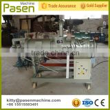 Chicken manure dewatering equipment / screw press separator / animal dung dewatering machine