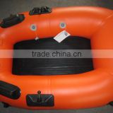 Mini single person fishing boat inflatable raft river lake sport entainerment cheap style design