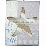 New sea style wood carved wall plaques decoration