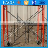 h type framework scaffolding movable scaffold frame tower