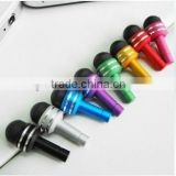 Light-weight capacitive tip stylus/ touch screen pen for iPhone/iPad/Galaxy/ect touch screen pen with 3.5mm dust plug