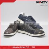 custom print on guangzhou men sneakers shoes with price 2016                                                                                                         Supplier's Choice