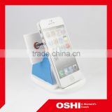 Ocean blue color high quality OBM cell phone holder, mobile holder, cellphone holder, photo holder