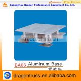 tower truss accessories,used aluminium base for truss