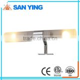 Interior decoration polished chrome bathroom light fixtures                                                                         Quality Choice