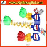 Sports little toy boxer,telescopic fist glove hand,sports toys for promotional gifts