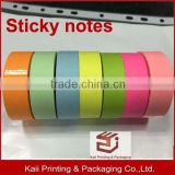 factory price and fast delivery sticky note rolls, promotional gift sticky note rolls, for business advertising and office note