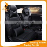 Black style universal genuine leather car seat covers