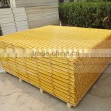 Anti-corrosion Fiberglass reinforced plastic floor grating, great load bearing with big span