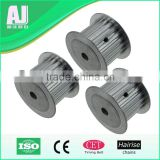 Aluminum wheel small timing belt pulley