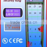 18 Zones Portable Security Walkthrough Metal Detector door XST-F18                                                                         Quality Choice