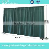 Wholesale wedding ceiling drape, pipe drape system for trade show booth
